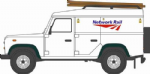 Oxford Diecast NDEF008 Land Rover Defender LWB Hard Top Network